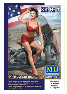 "MB24001 Master Box. ""Marylin"" Pin-up Series. Scale 1:24"