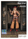 "MB24018 Master Box. ""Marshall Jessie"" - Pin-up Series. Scale 1:24"