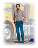 "MB24042 Master Box. ""Stan (Long Haul) Thompson"", Trucker Series. Scale 1:24"