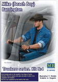"MB24044 Master Box. ""Mike (Beach Boy) Barrington"", Trucker Series. Scale 1:24"