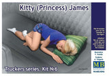 "MB24046 Master Box. ""Kitty (Princess) James"", Trucker Series. Scale 1:24"