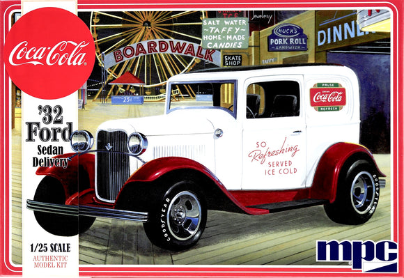 MPC902 - '32 Ford Sedan Delivery, Coca Cola, 1:25 Scale