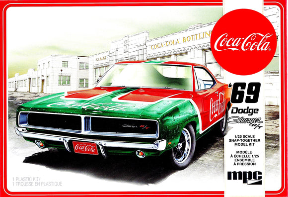 MPC919M - 1969 Dodge Charger R/T, Coca Cola, Snap-It, 1:25 Scale