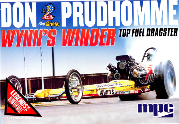 MPC921 - Don Prudhomme, Wynn's Winder Top Fuel Dragster, 1:25 Scale