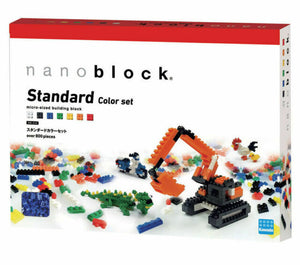 Nanoblock Standard Colour Set