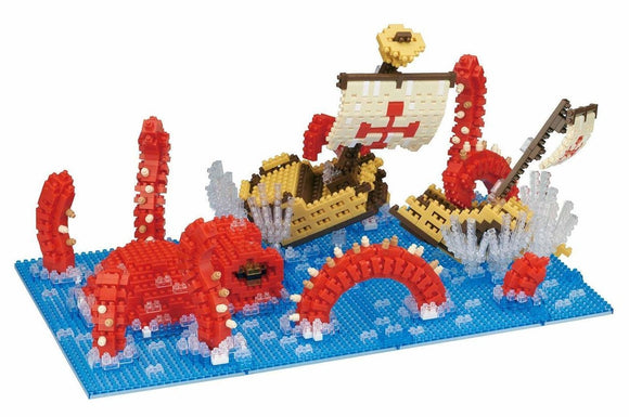 Kraken, King of the Sea. NB-041 - Grand Prize Nanoblock Awards 2017 - FREE POSTAGE