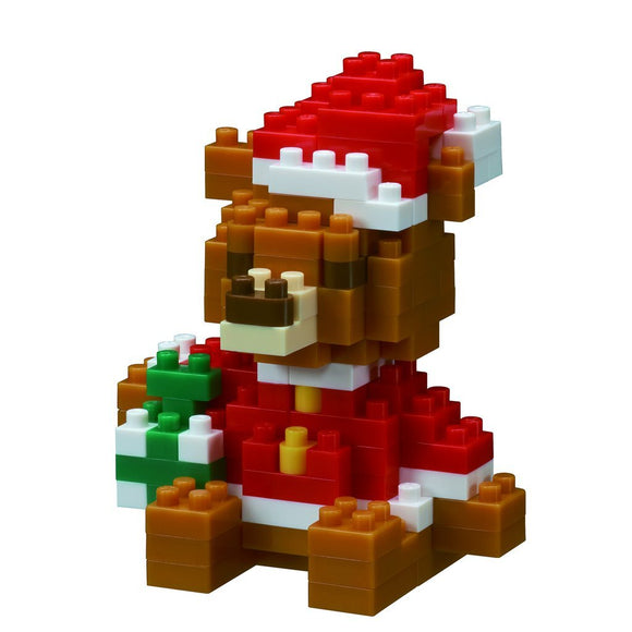Christmas Bear, 140 Pieces, Level 2