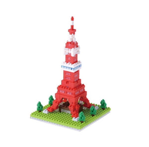 Tokyo Tower. Sights to See Series. NBH-090. 280 Pieces, Level 3