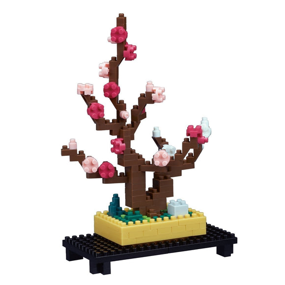 Plum Bonsai. Sights to See Series. NBH-134. 170 Pieces, Level 2