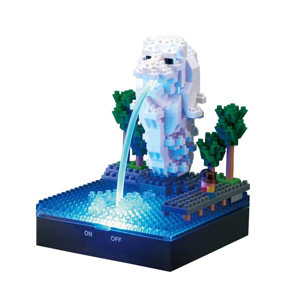 Merlion with Optic Fibre & LED Plate, Sights to See Series. NBH-158