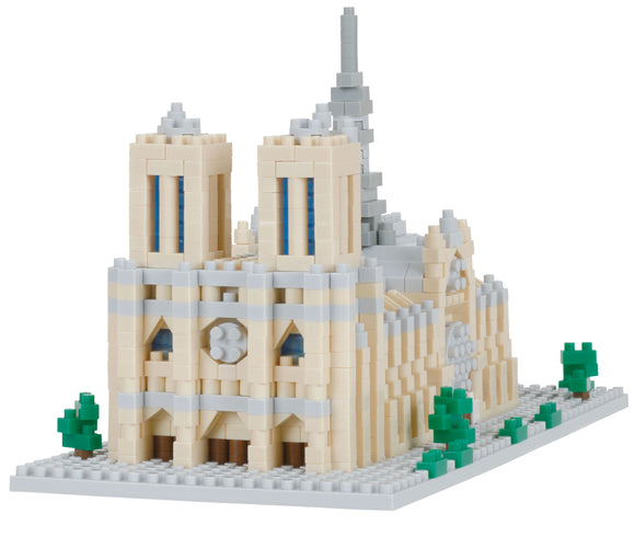 Notre Dame Cathedral. Challenger Deluxe Series. NBH-205. 1040 Pieces, Level 4
