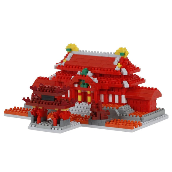 Shuri Castle. Challenger Deluxe Series. NBM-030. 840 Pieces, Level 3