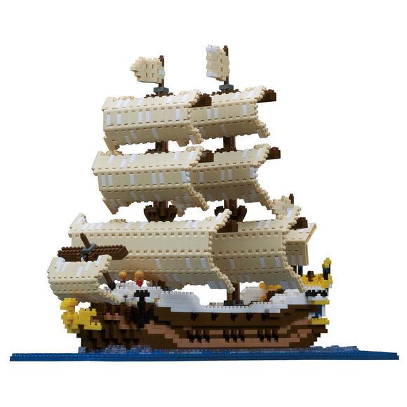 Sailing Ship Deluxe - Challenger Series - 2490 Pieces, Level 5. FREE Postage