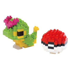 Caterpie and Poke Ball