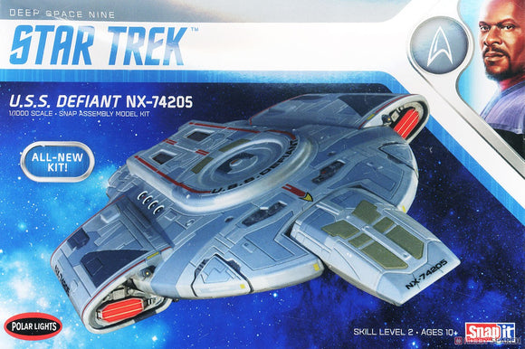 POL952 Polar Lights Star Trek U.S.S. Defiant NX-74205 1:1000