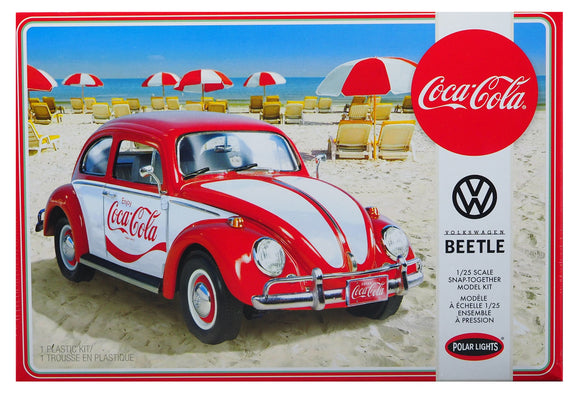 POL960M Polar Lights, VW Beetle - Coca Cola, 1:24 Scale