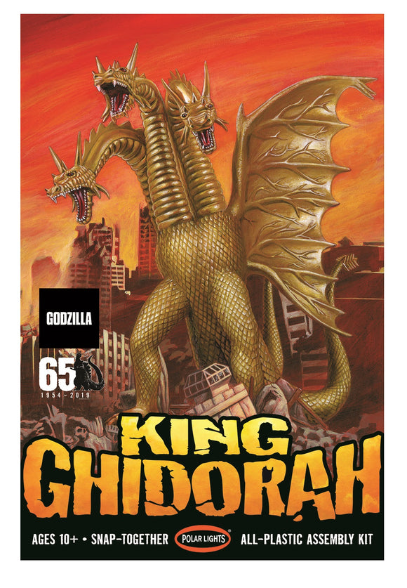 POL962 Polar Lights - King Ghidorah (Snap Togethor), 1:350 Scale