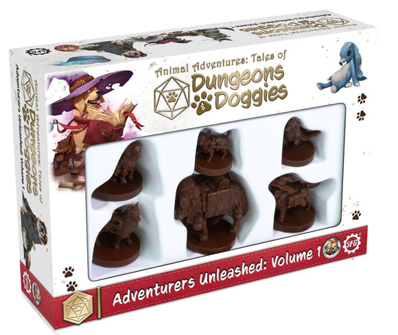 Dungeons & Doggies, Adventurers Unleashed Volume 1