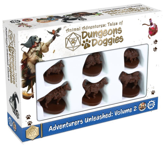 Dungeons & Doggies, Adventurers Unleashed Volume 2