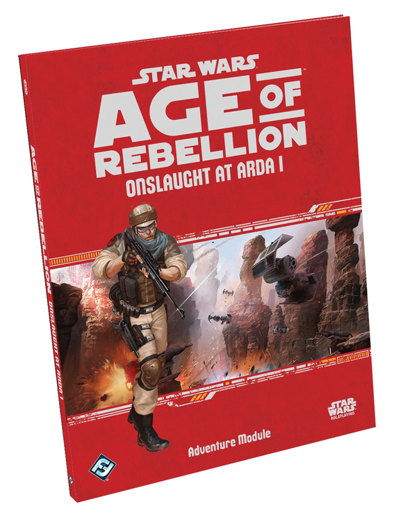 Star Wars Age of Rebellion, Onslaught at Arda I Sourcebook