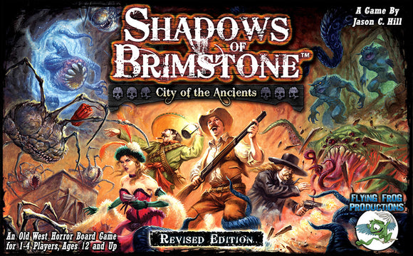 Shadows of Brimstone: City of Ancients - Revised Core Set. FREE POSTAGE