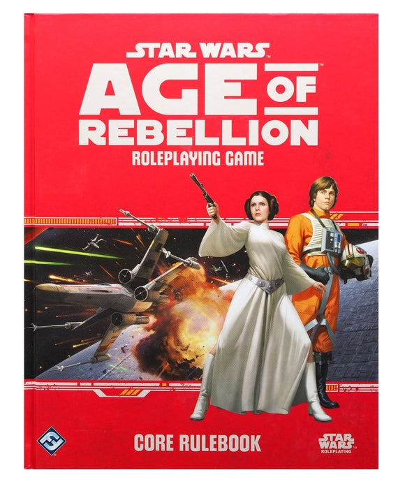 Star Wars Age of Rebellion Core Rulebook. FREE POSTAGE