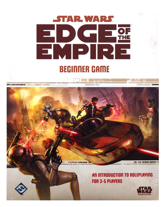 Star Wars Edge of the Empire Beginners Game