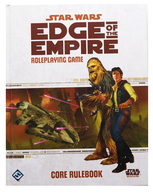 Star Wars Edge of the Empire Core Rulebook. FREE POSTAGE