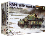Takom 2120, WWII German Panther Ausf.G Mid Production - 2 in 1 Kit. Scale 1:35 FREE POSTAGE