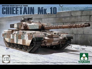 Takom 2028, British Main Battle Tank Chieftain Mk.10. Scale 1:35. FREE POSTAGE
