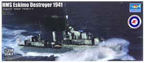 Trumpeter TR05331 - HMS Eskimo Destroyer 1941. RAN Decals 1:350 Scale