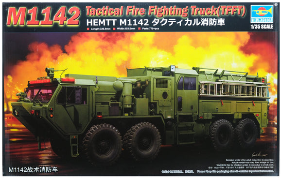 Trumpeter TR01067 -M1142 Tactical Fire Fighting Truck 1:35 Scale FREE Postage