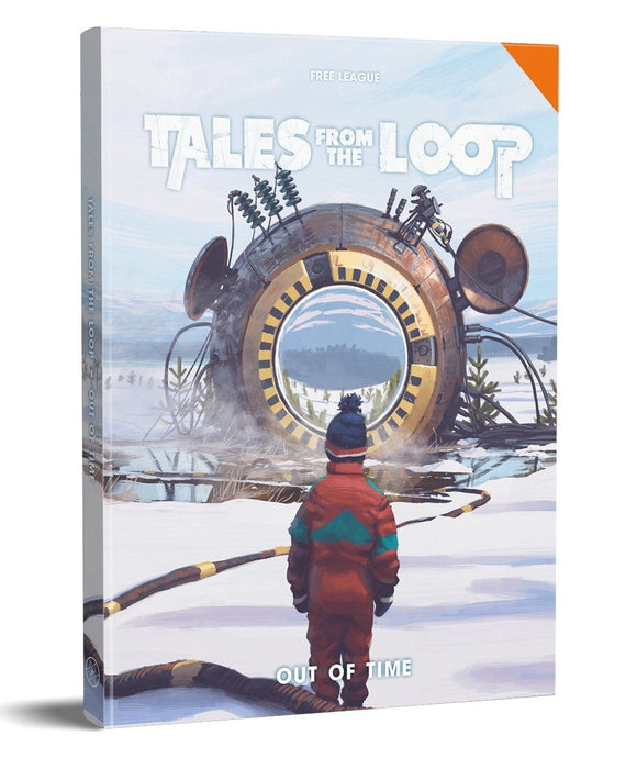 Tales from the Loop - Out of Time. RPG Campaign Book
