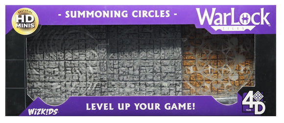 WarLock Tiles: Summoning Circles. FREE POSTAGE. (Battery incl)