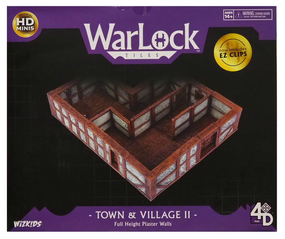 WarLock Tiles - Town & Village II Full Height Plaster. WZK16511. FREE POSTAGE