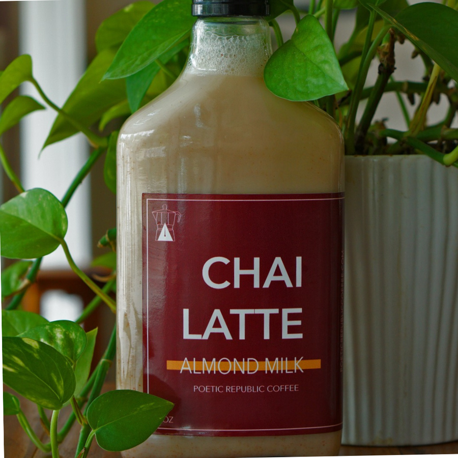 4 Pack Bottled Chai Lattes