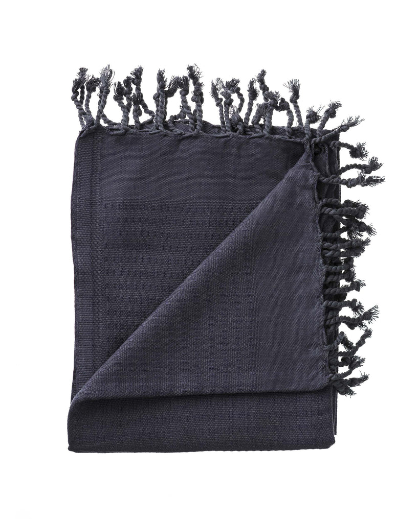 2 x Bath Towels - Charcoal first