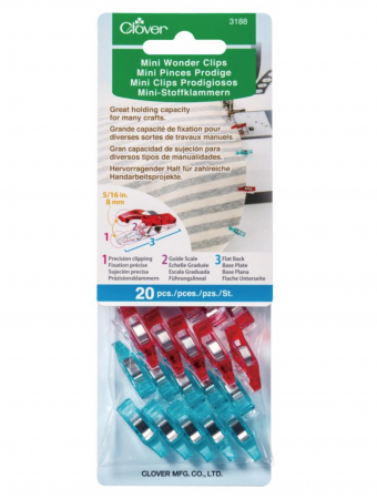 Clover Mini Wonder Clips 20ct.