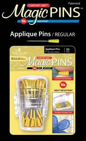 "Magic Pins Applique 1"" 50ct."