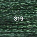 DMC 6-strand Cotton Embroidery Floss: colours 208 - 699 + whites