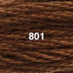 DMC 6-strand Cotton Embroidery Floss: colours 700 - 3844