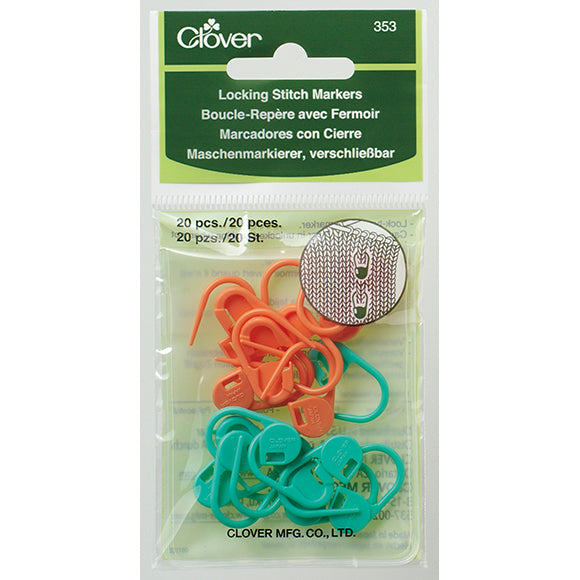 Clover Locking Stitch Markers
