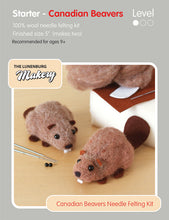 Load image into Gallery viewer, Lunenburg Makery Sculptural Needle Felting Kits