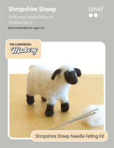 Lunenburg Makery Sculptural Needle Felting Kits