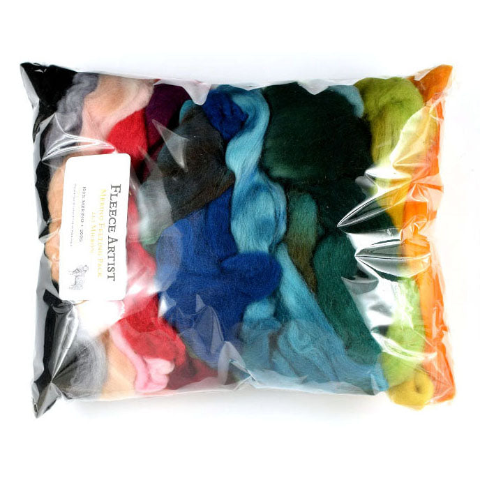 Fleece Artist Merino Fibre Colour Pack