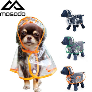Pet Poncho For Rainy Days