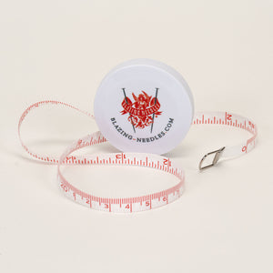 Blazing Needles Measuring Tape