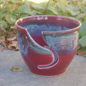 One-Of-A-Kind, Handmade Ceramic Yarn Bowl