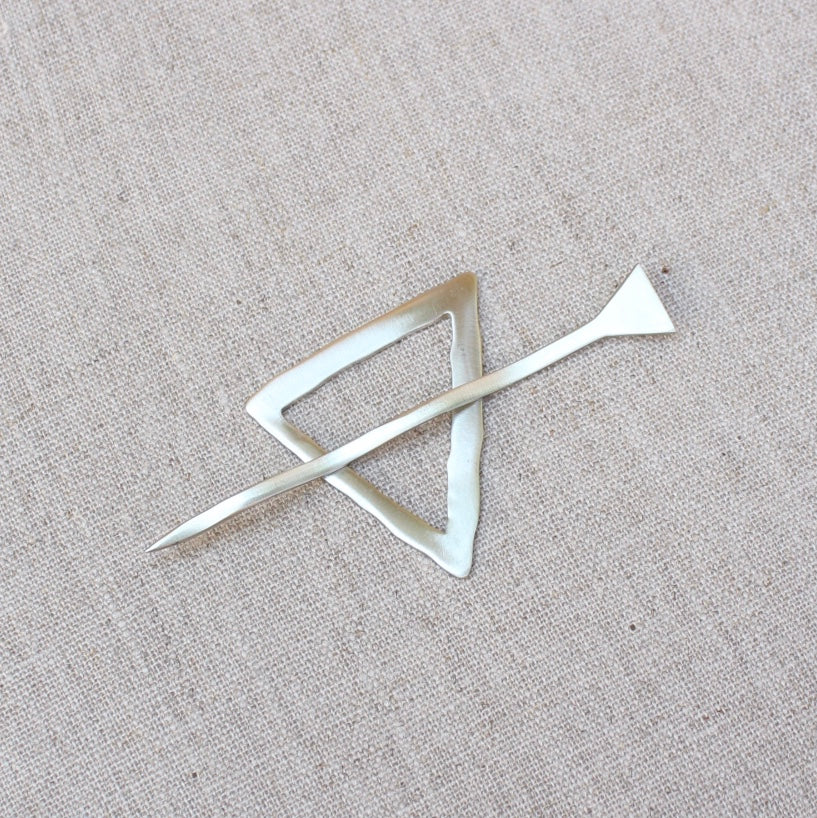 Mid Century Shawl Pin - Options Available