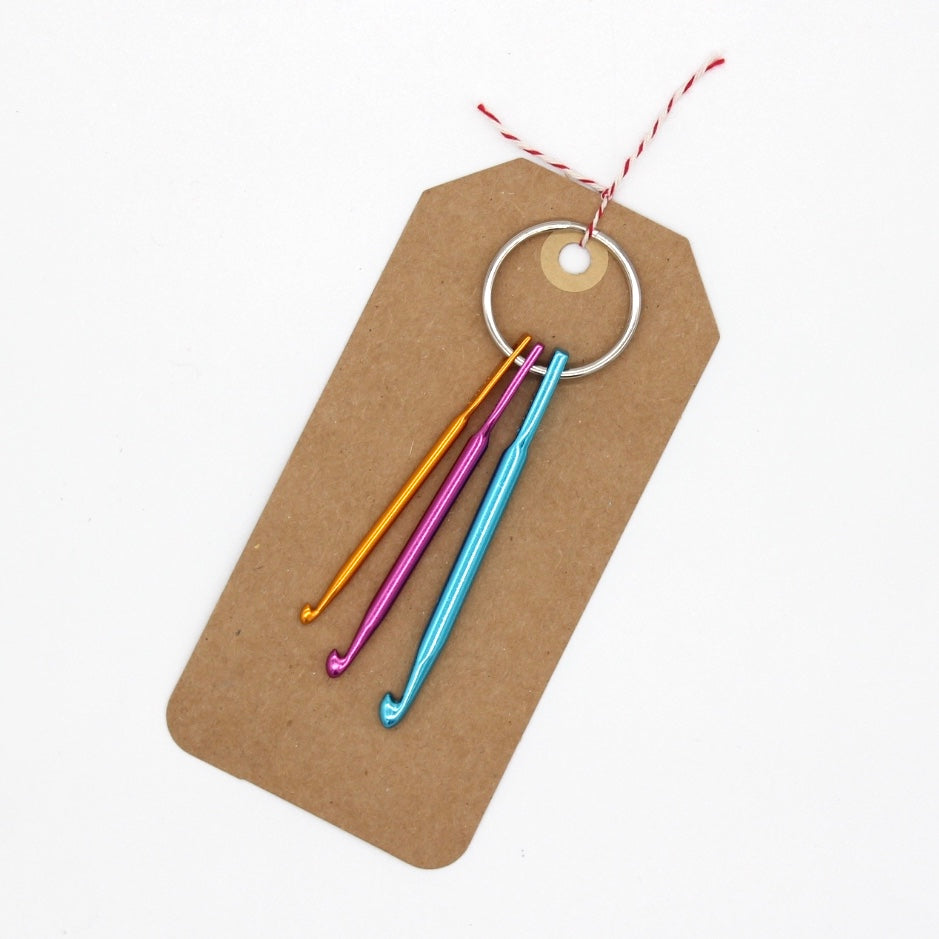 Knitfix Mini Crochet Hook Keychain